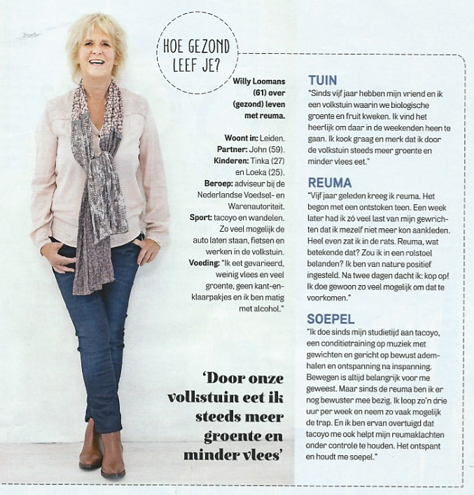 Tacoyo in de Margriet